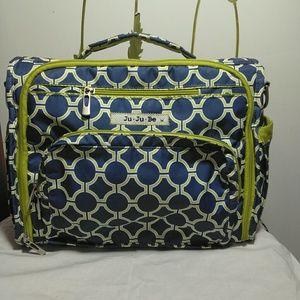 Ju•ju•be backpack green and blue